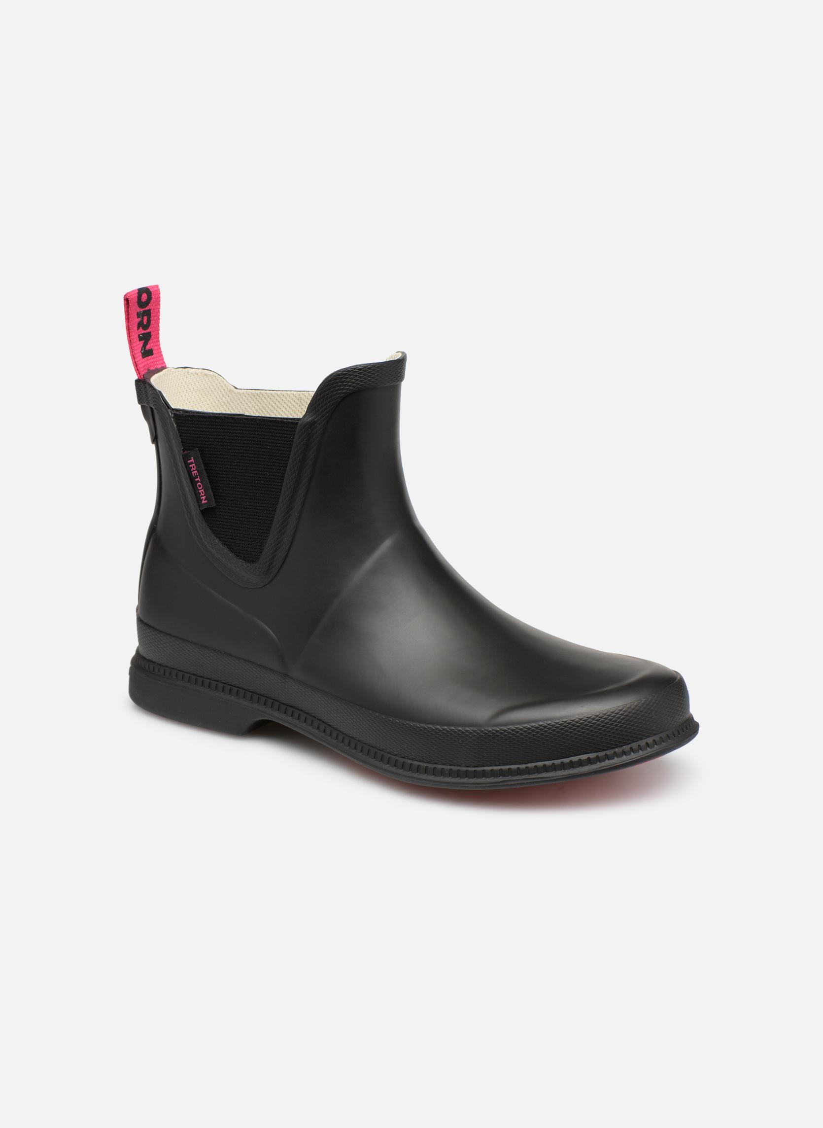 Boots en enkellaarsjes Tretorn Zwart