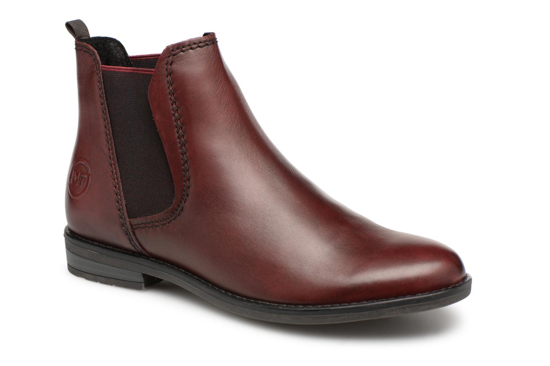 Boots en enkellaarsjes Marco Tozzi Bordeaux