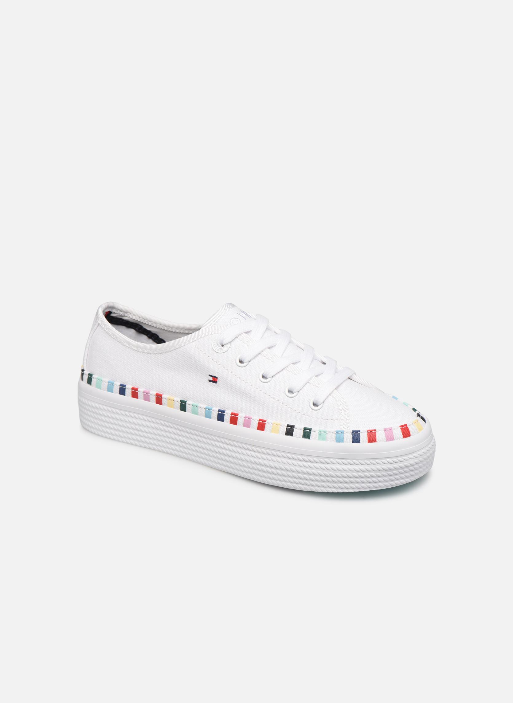 Sneakers Rainbow platform sneaker by Tommy Hilfiger