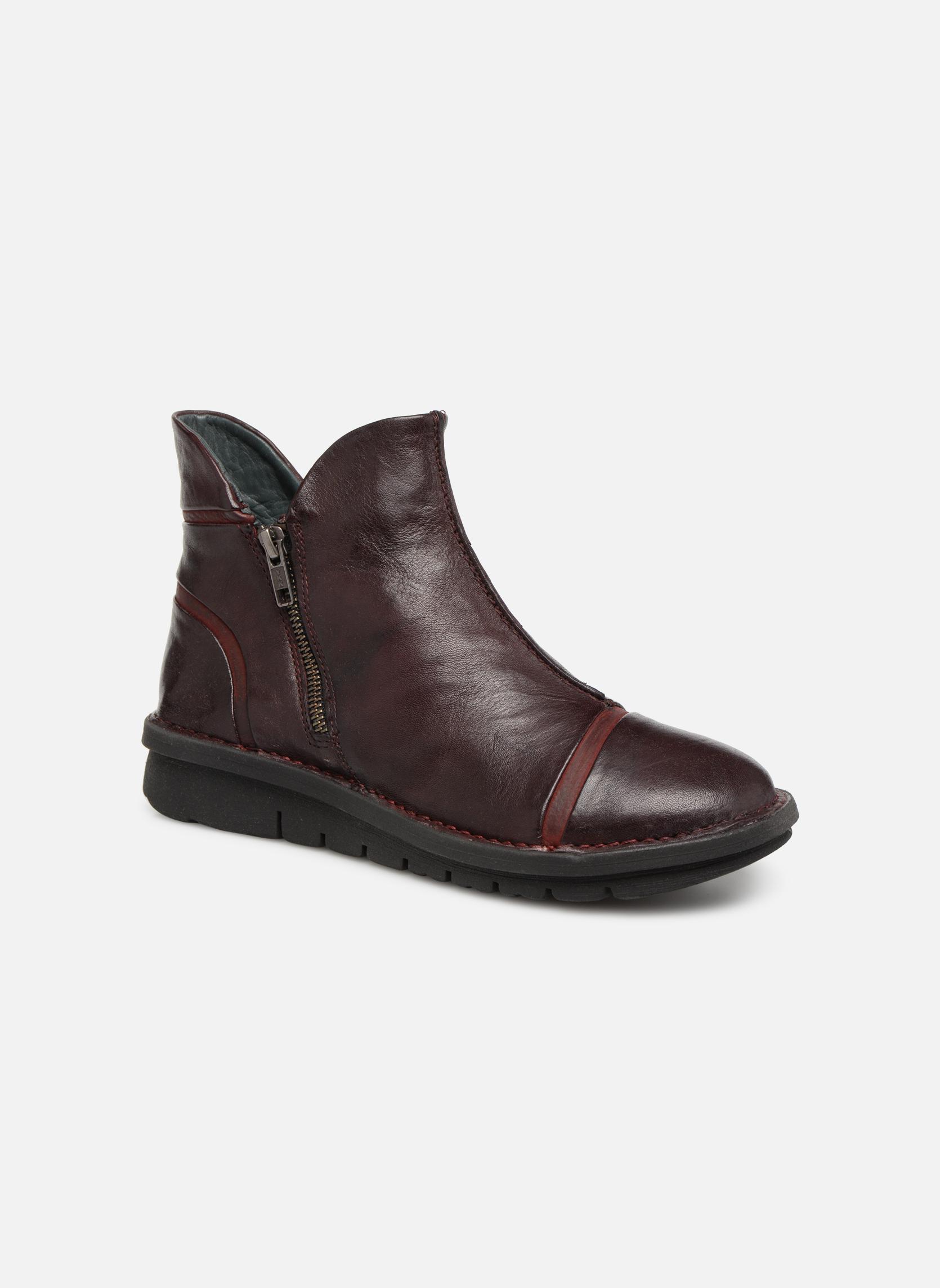 Boots en enkellaarsjes Khrio Bordeaux