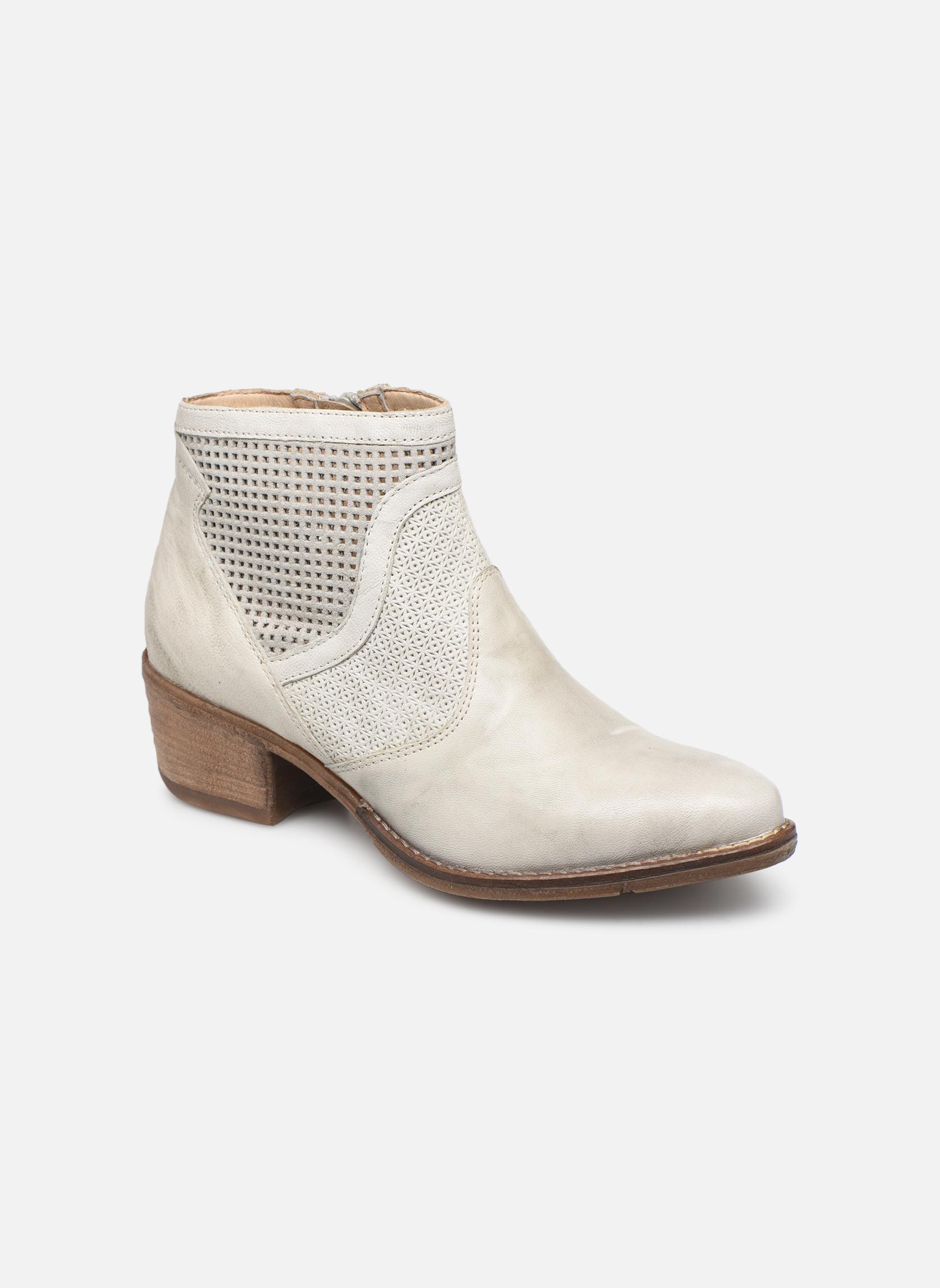 Boots en enkellaarsjes Khrio Wit