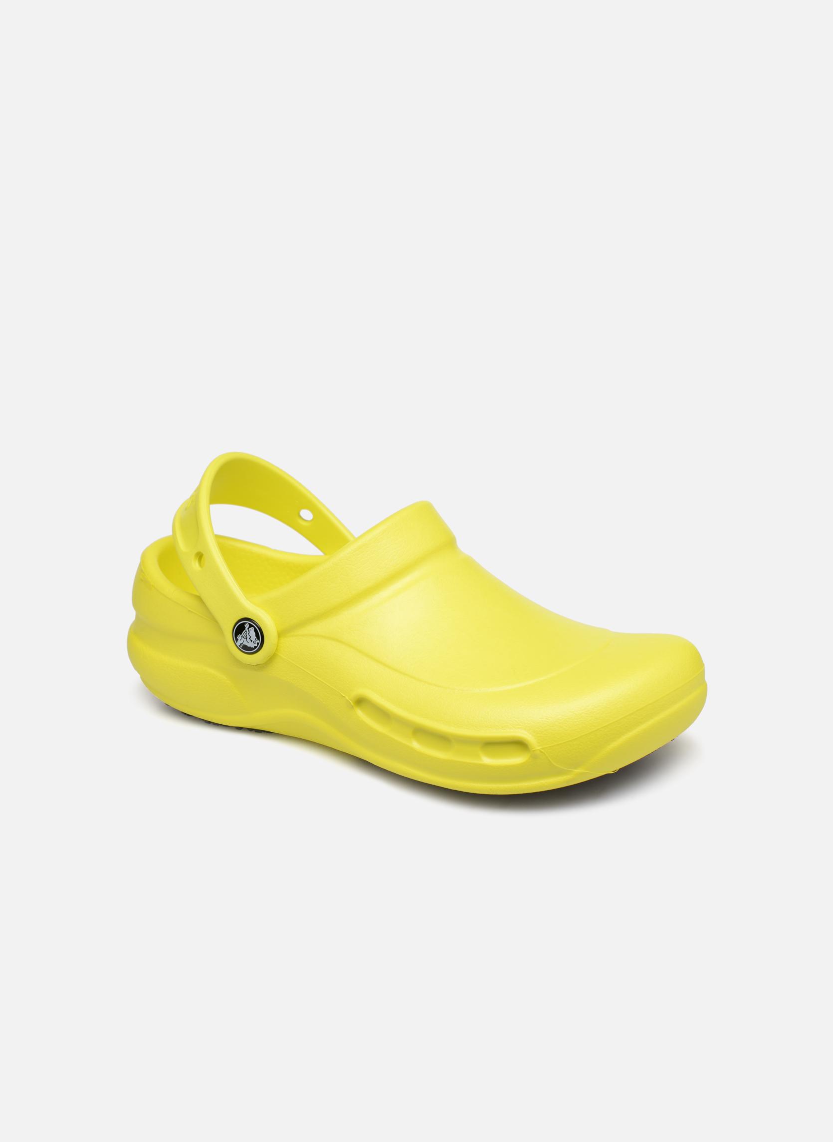 Wedges Crocs Geel