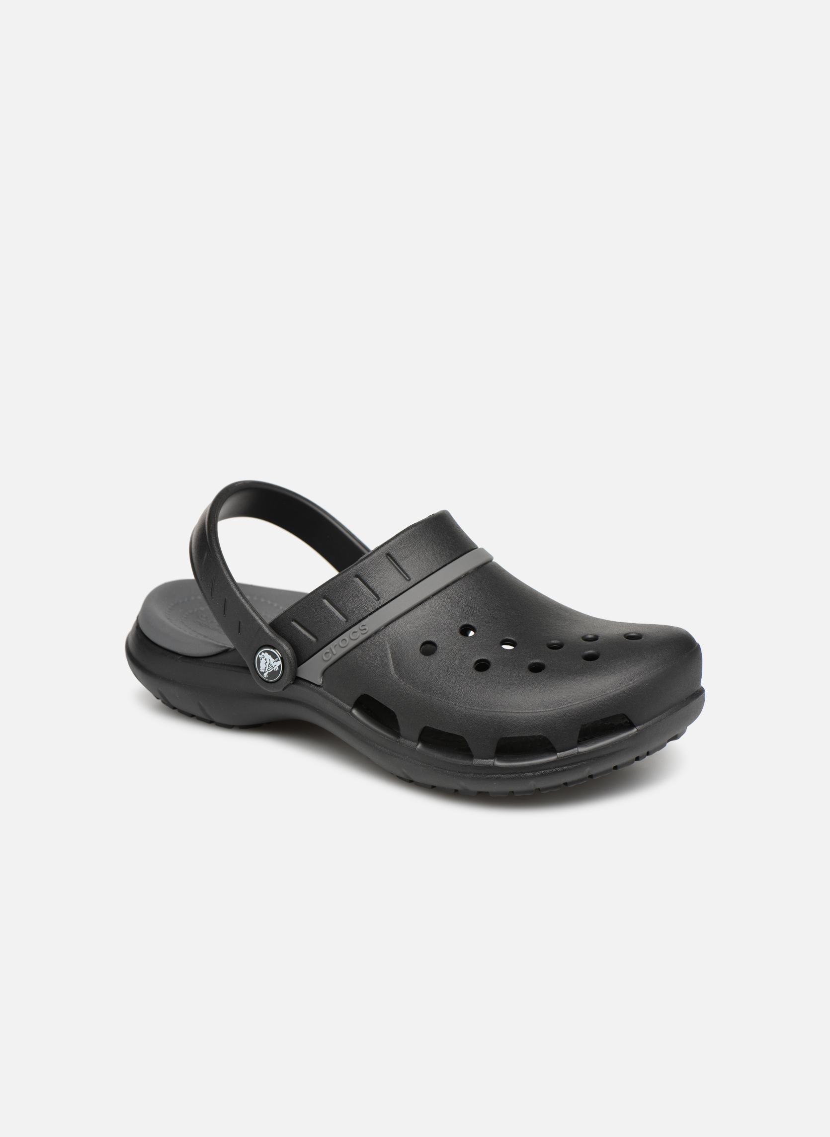 Wedges Crocs Zwart