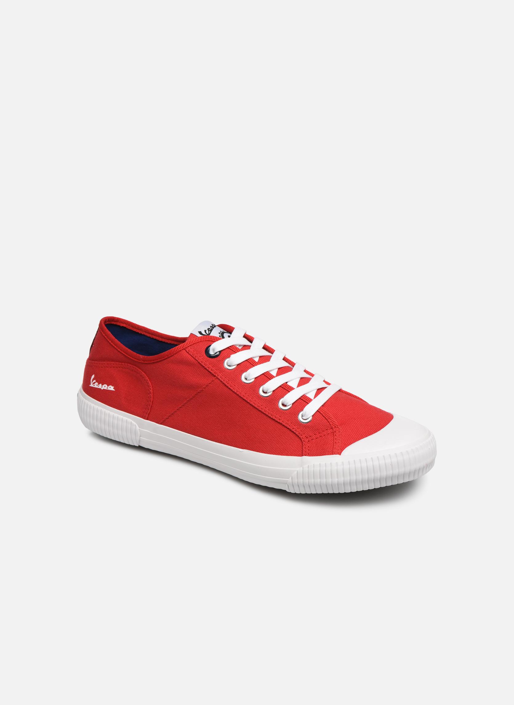 Sneakers Vespa Rood