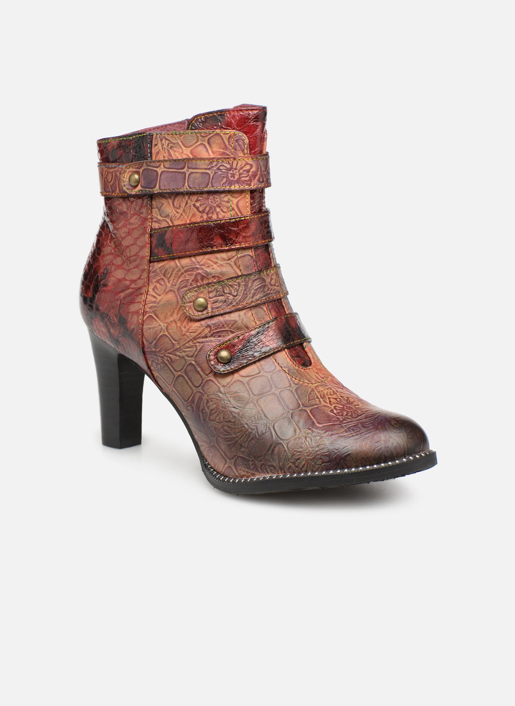 Boots en enkellaarsjes Laura Vita Bordeaux