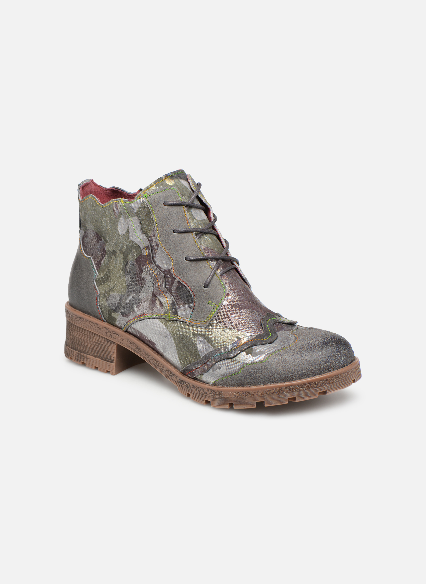 Boots en enkellaarsjes Laura Vita Groen