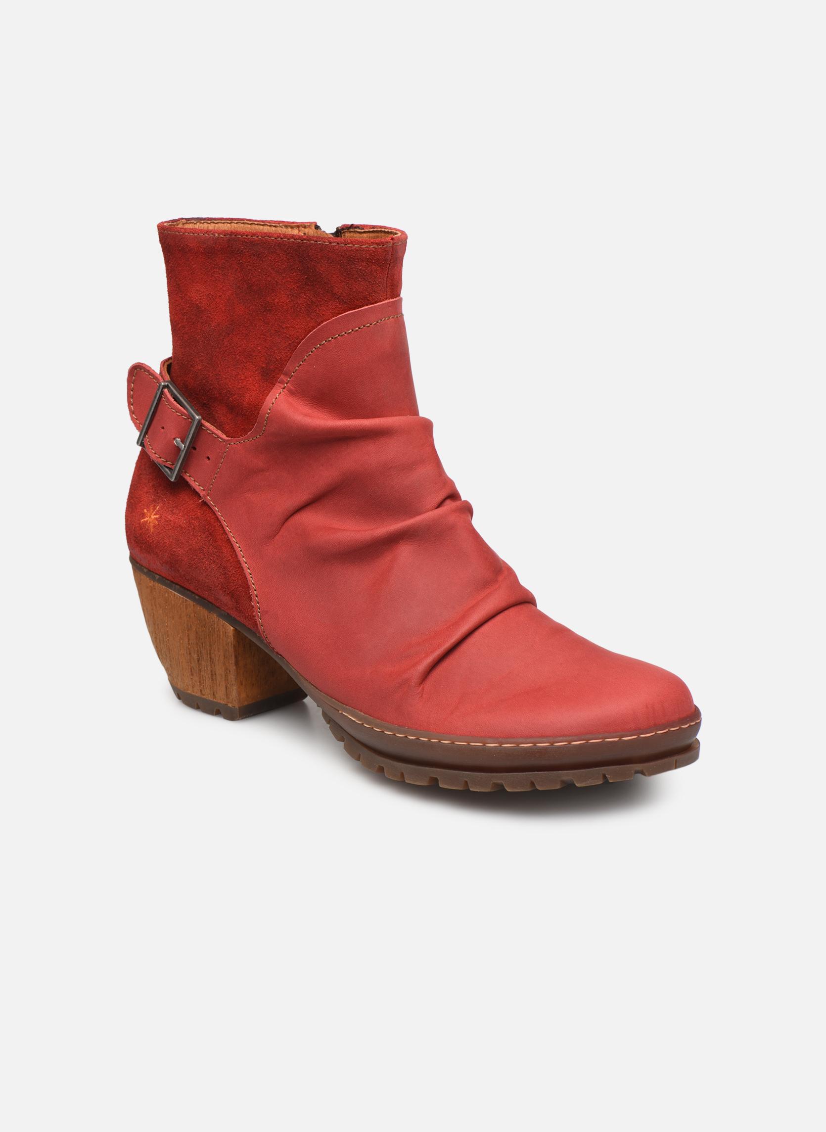Boots en enkellaarsjes Art Rood