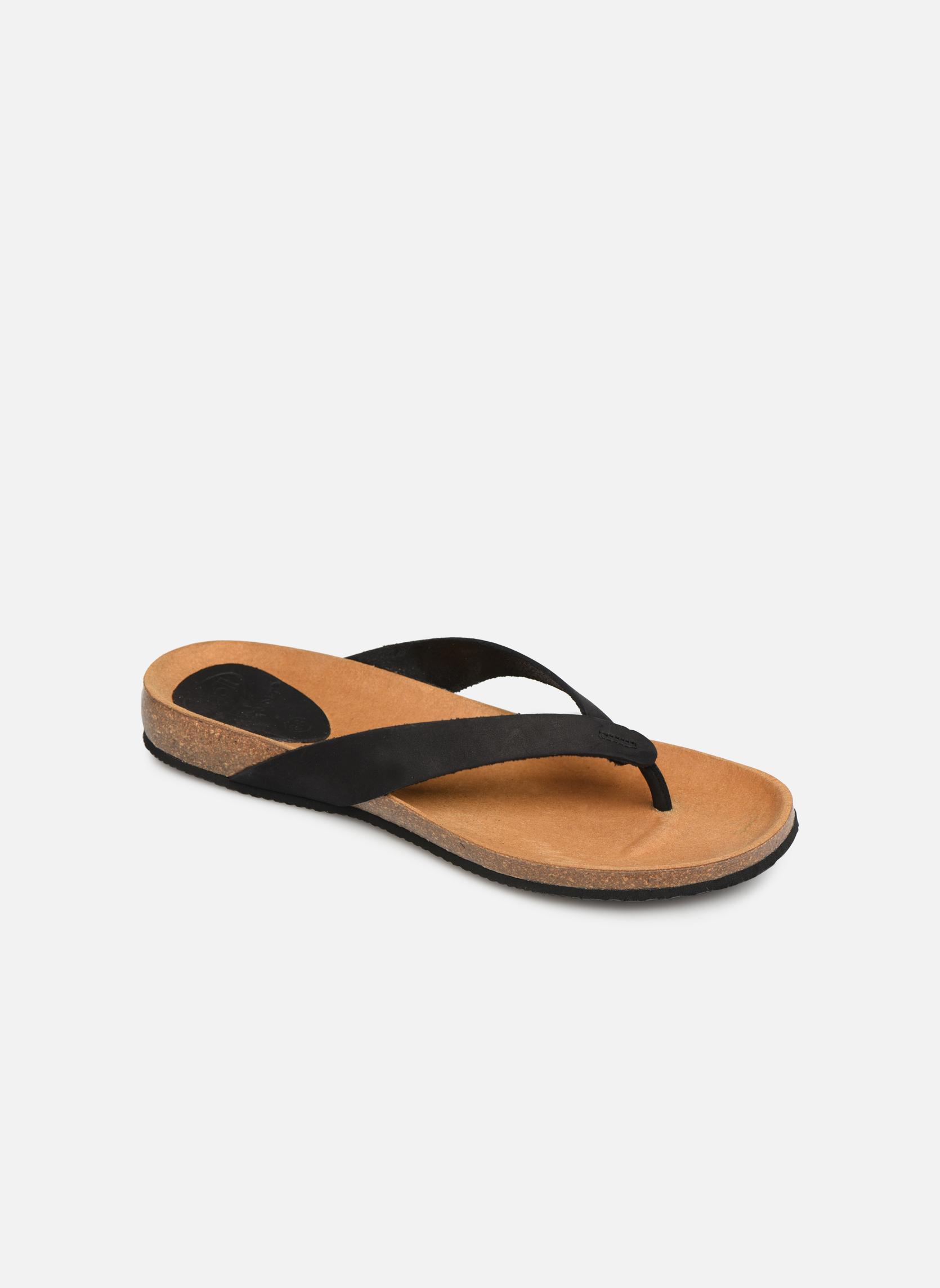 Slippers Scholl Zwart