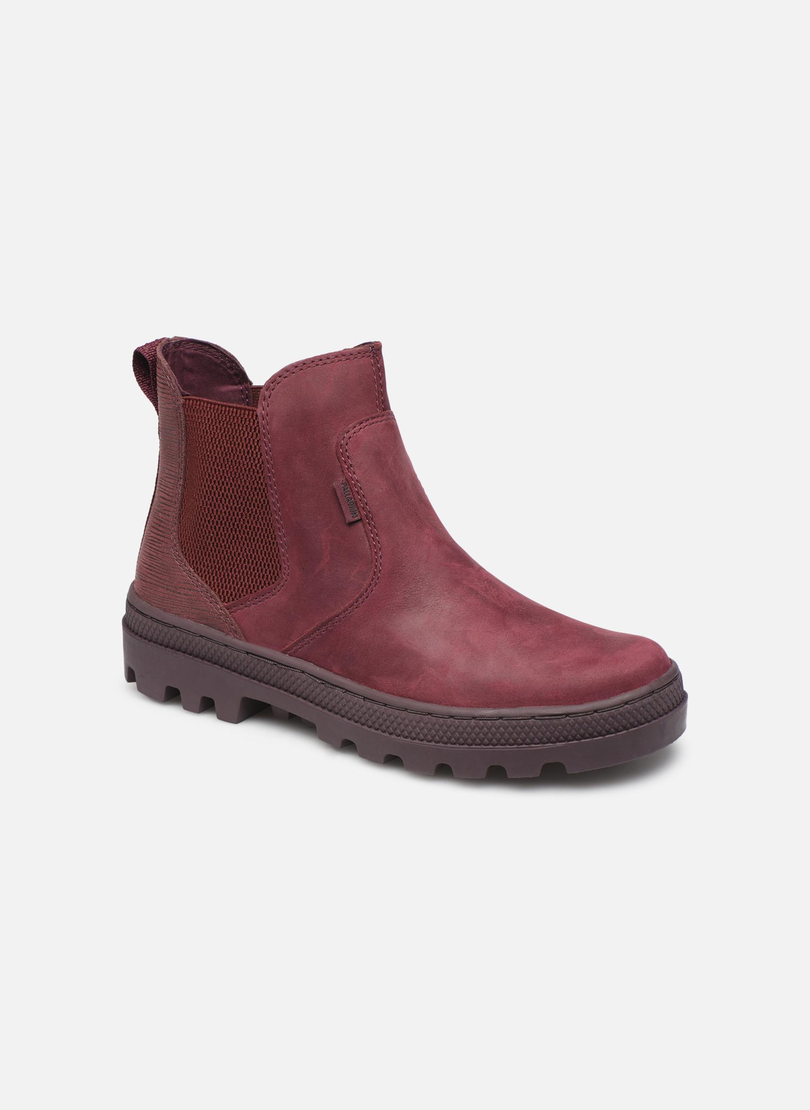 Boots en enkellaarsjes Palladium Bordeaux