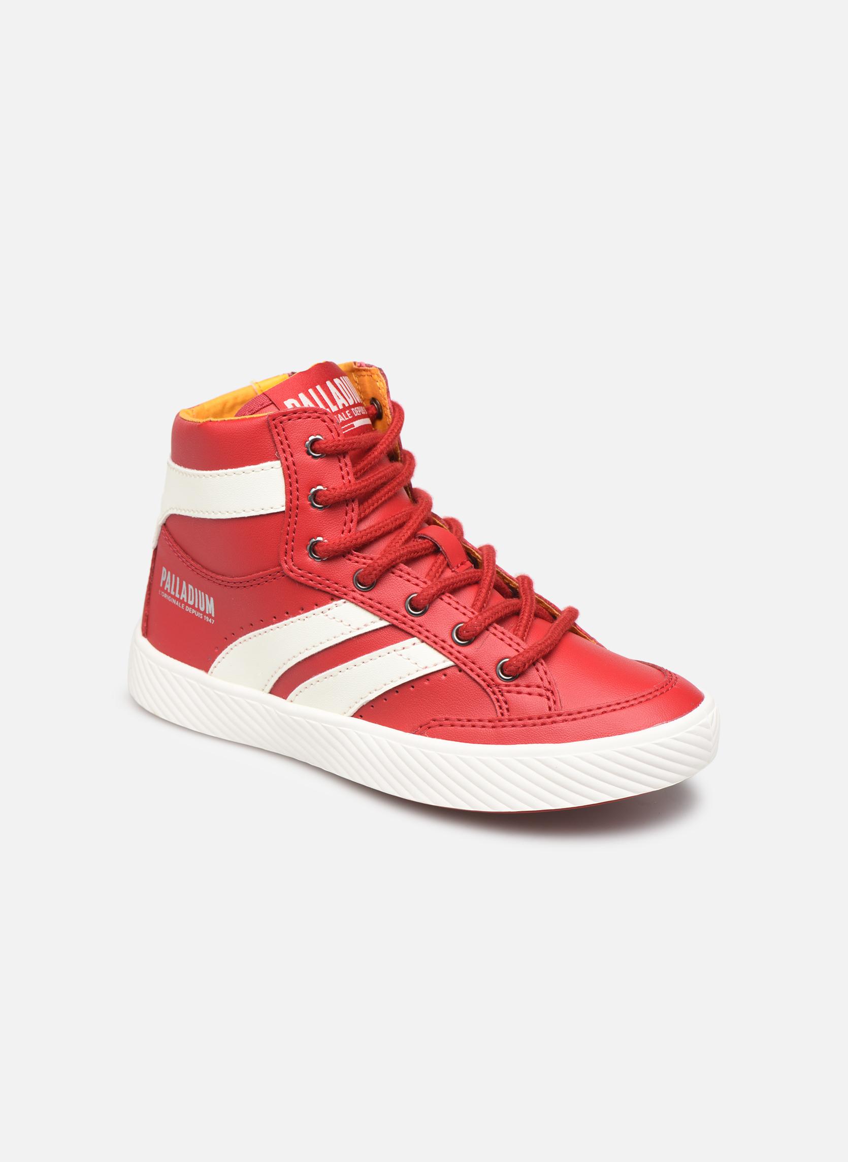 Sneakers Palladium Rood