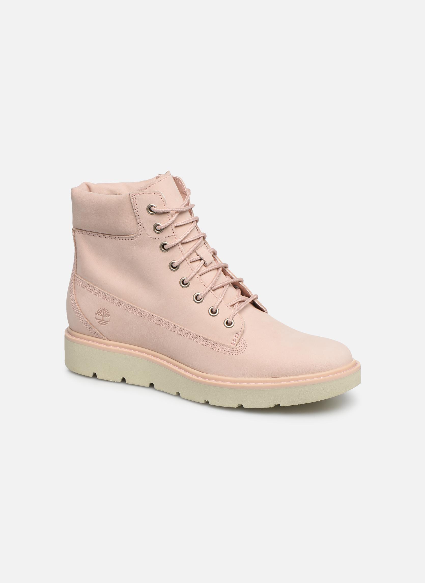 Boots en enkellaarsjes Timberland Roze