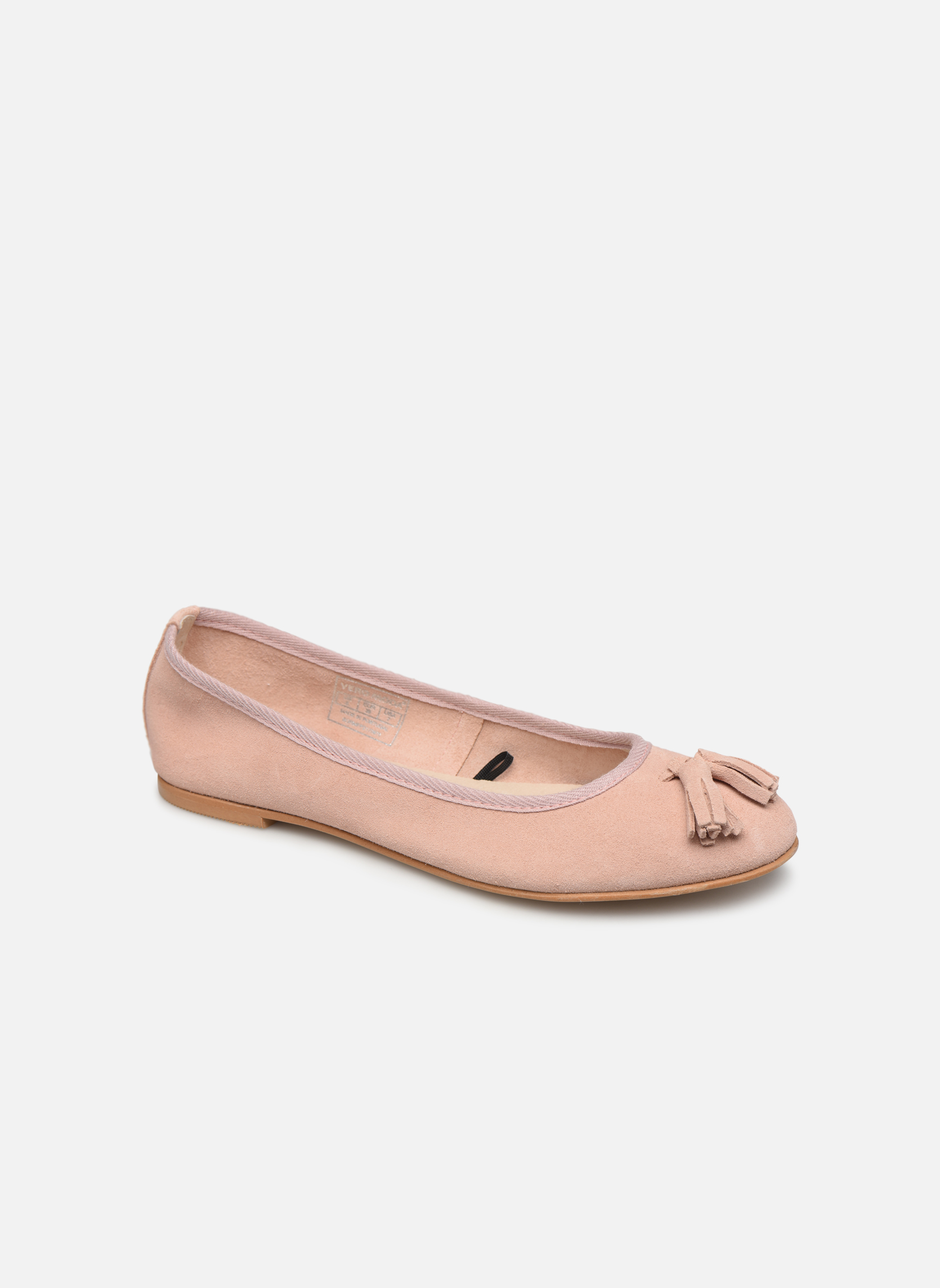 Ballerina's Vmfreya Leather Ballerina by Vero Moda