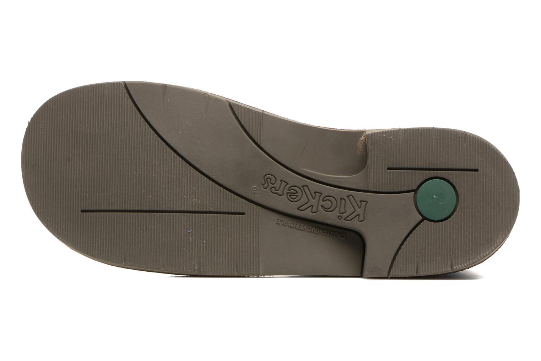 Chaussures à lacets Kickers Kick Col Marron vue haut