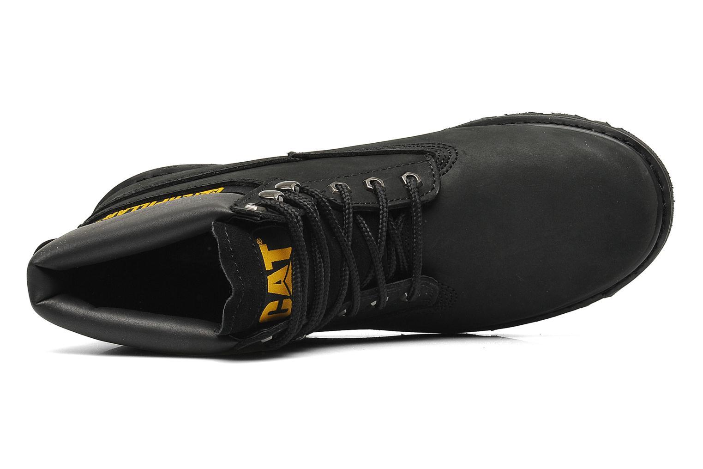 Boots en enkellaarsjes Caterpillar Colorado Zwart links