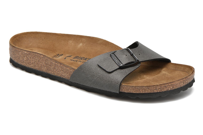 Los últimos mujer zapatos de hombre y mujer últimos Birkenstock Madrid (Gris) - Zuecos en Más cómodo efefb6