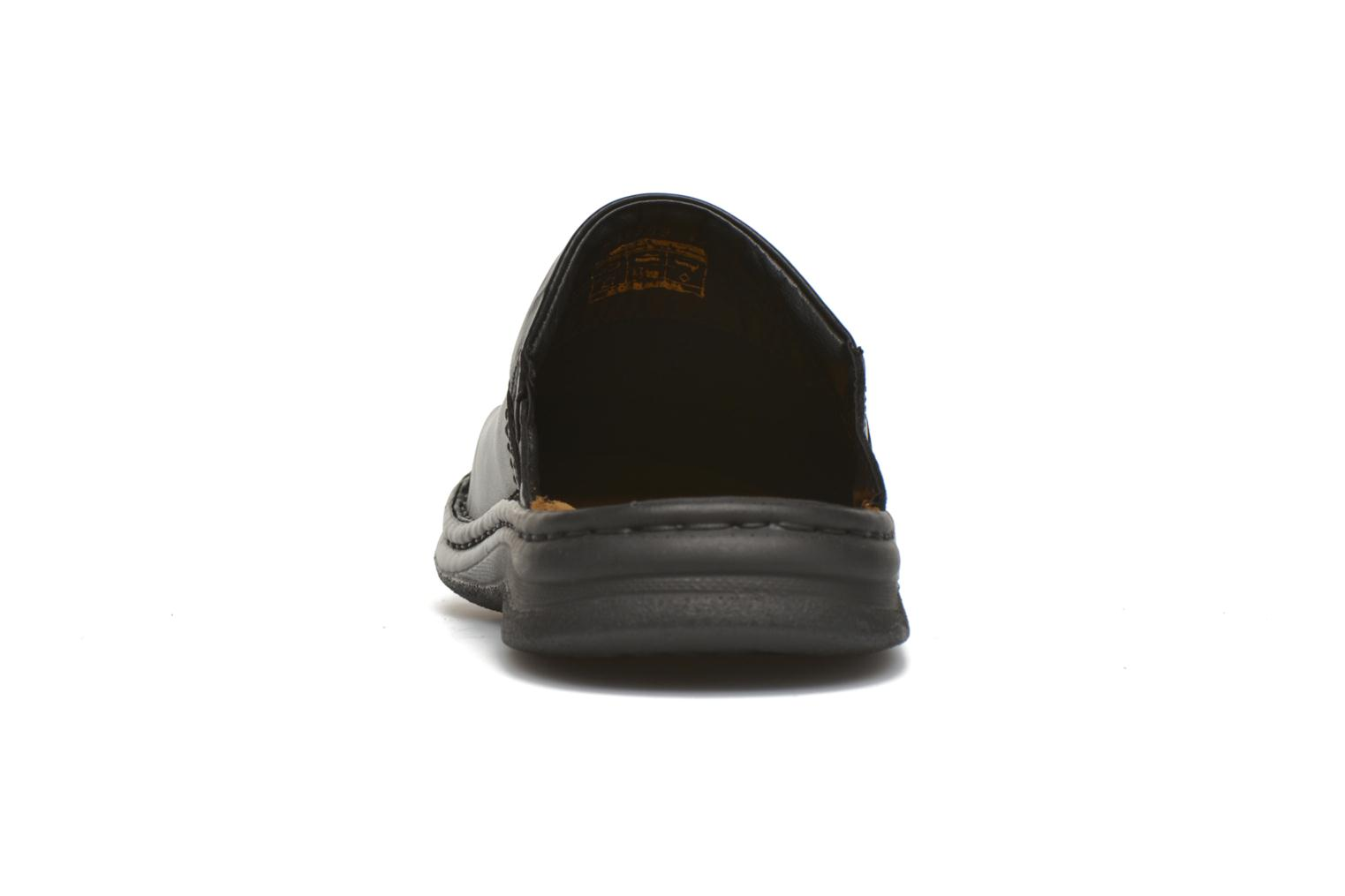 Sandals Josef Seibel Max Black view from the right