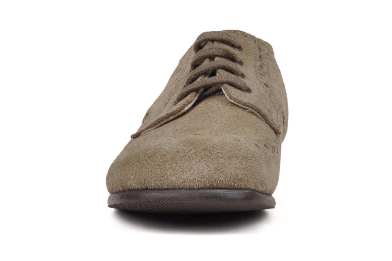 Chaussures à lacets Start Rite Charles Beige vue portées chaussures