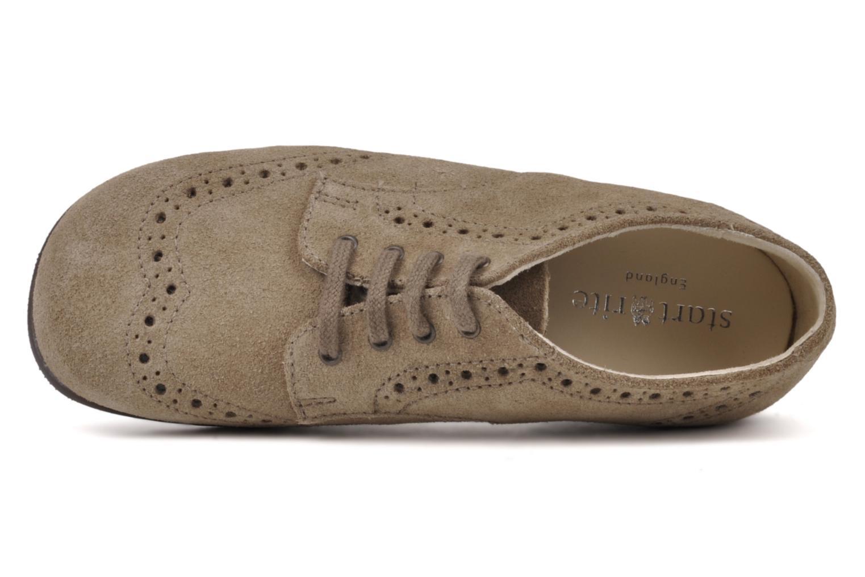 Chaussures à lacets Start Rite Charles Beige vue gauche