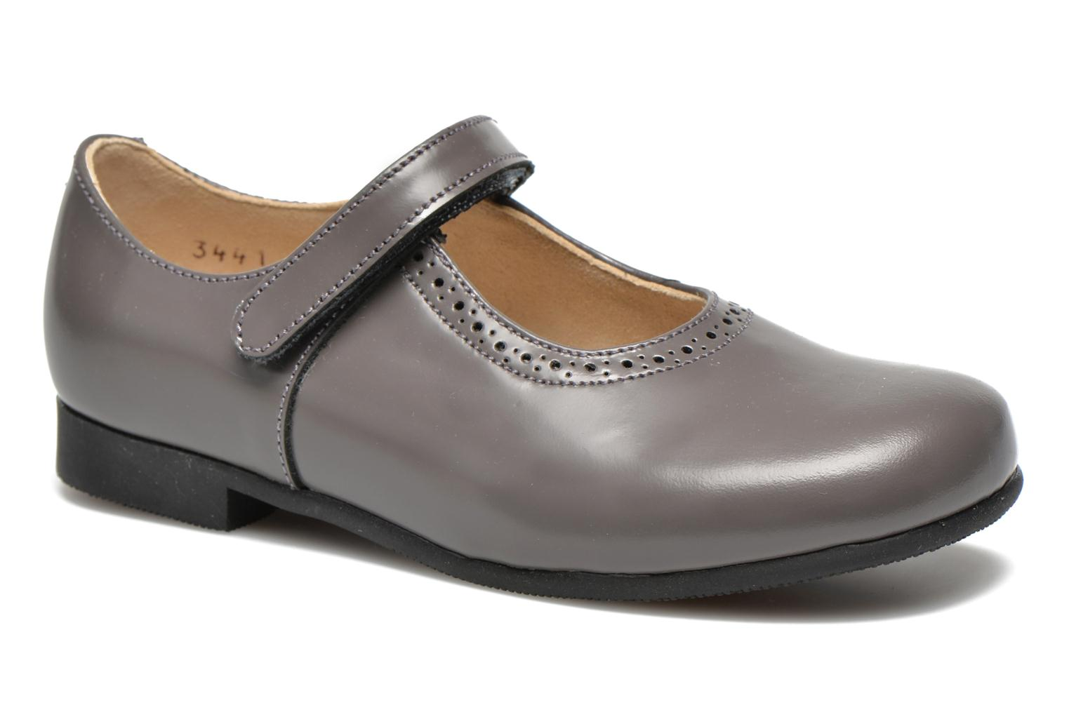 Delphine Grey leather