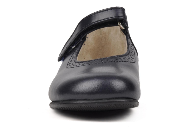 Ballerina Start Rite Delphine Blå bild av skorna på