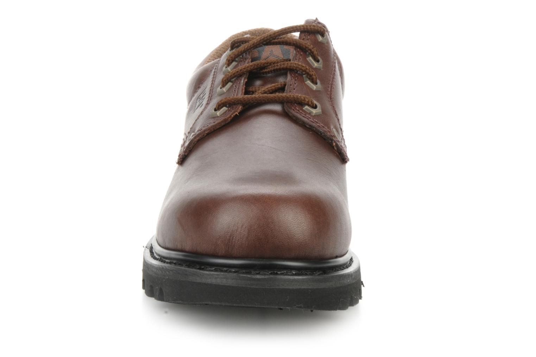Chaussures à lacets Caterpillar Falmouth Marron vue portées chaussures