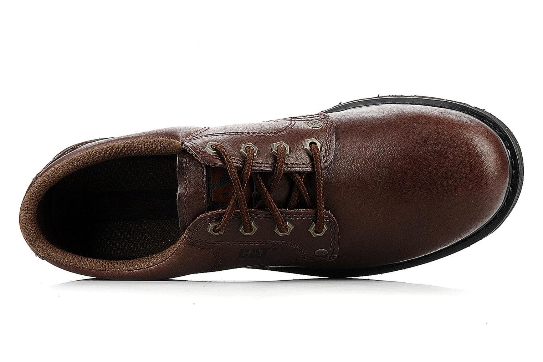 Chaussures à lacets Caterpillar Falmouth Marron vue gauche