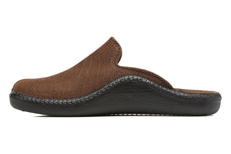 Pantofole Romika Mokasso 202 Marrone immagine frontale