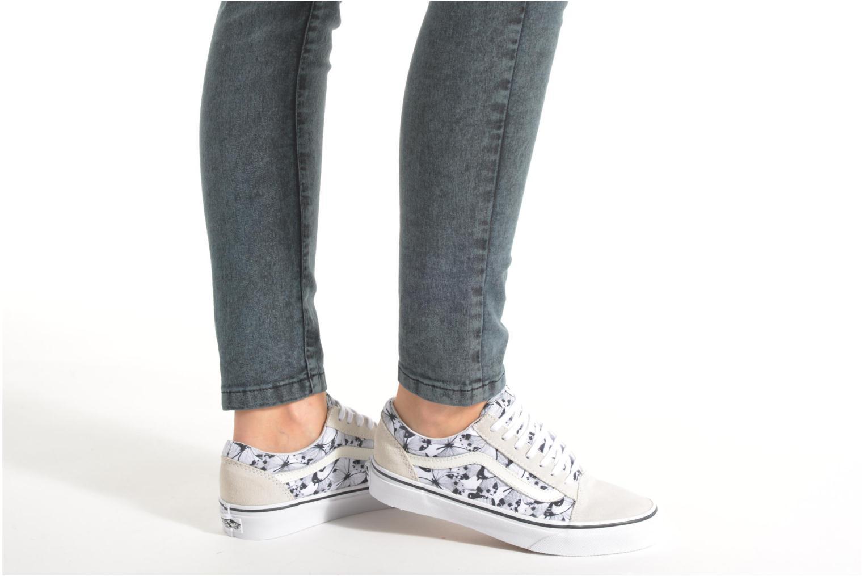 Sneakers Vans Old Skool W Wit onder
