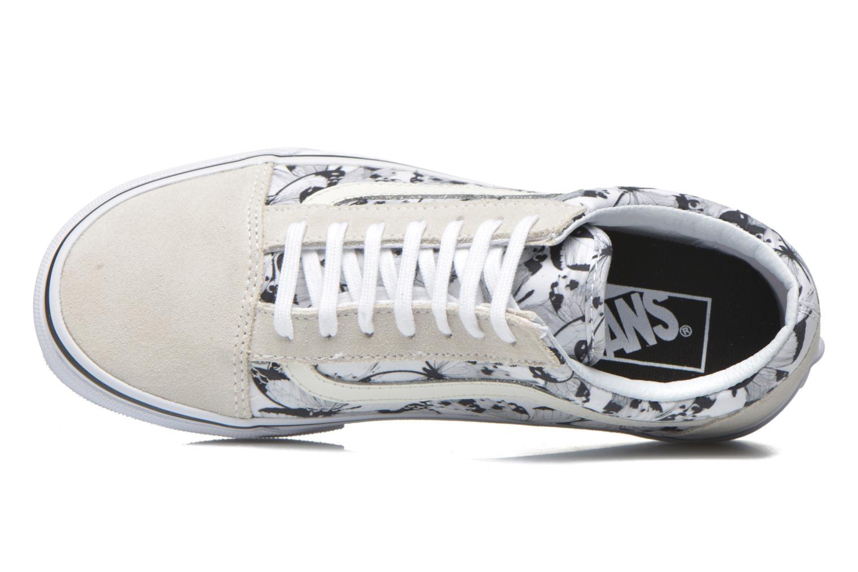Sneakers Vans Old Skool W Wit links