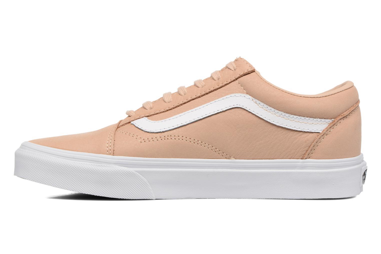 Sneaker Vans Old Skool W beige ansicht von vorne
