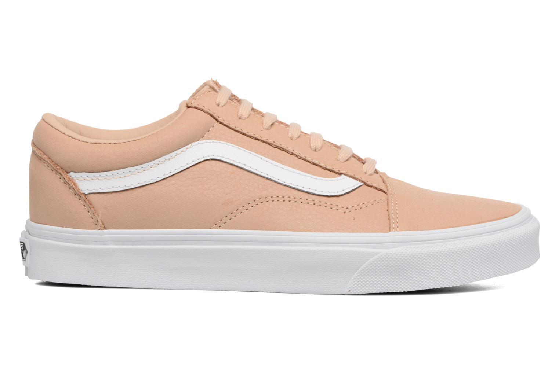 Sneaker Vans Old Skool W beige ansicht von hinten