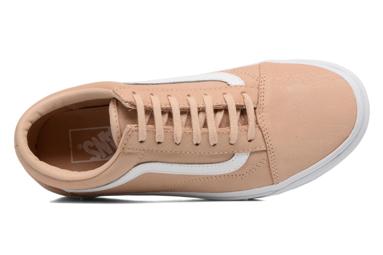 Sneakers Vans Old Skool W Beige se fra venstre