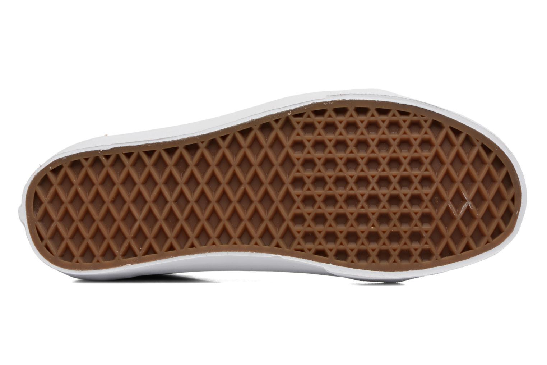 Sneaker Vans Old Skool W beige ansicht von oben