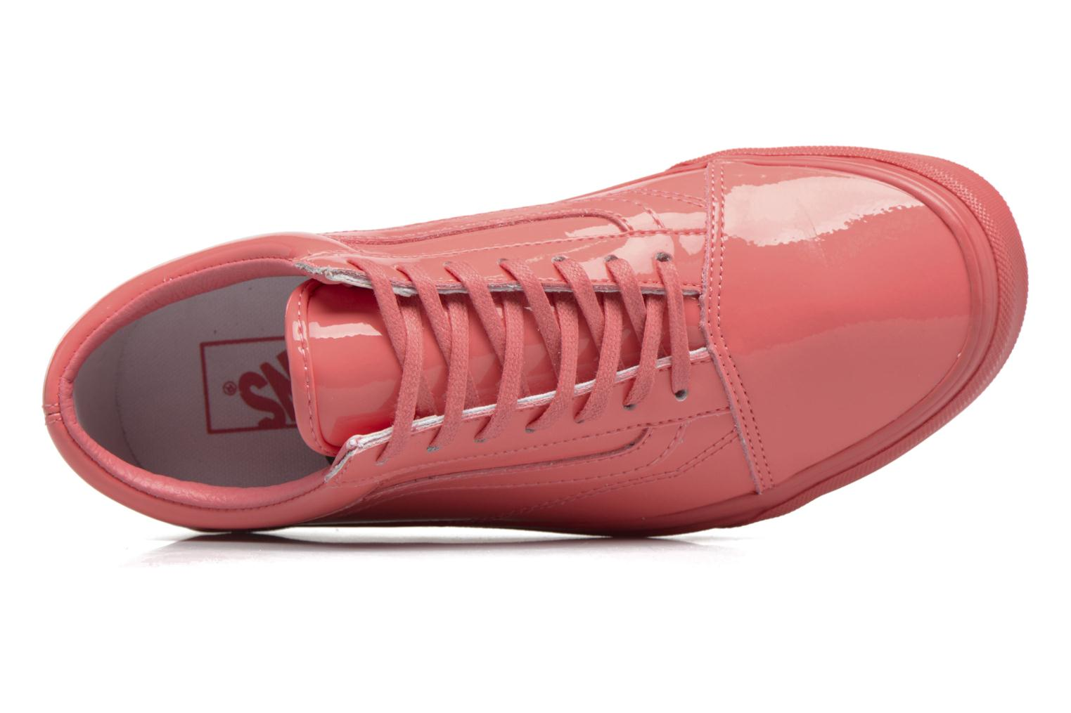 Trainers Vans Old Skool W Pink view from above