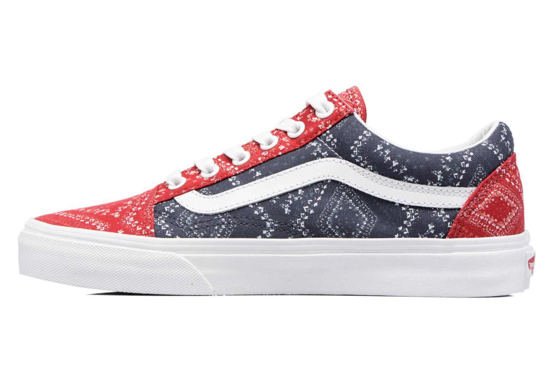 Sneaker Vans Old Skool W blau ansicht von vorne