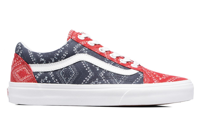 Sneaker Vans Old Skool W blau ansicht von hinten