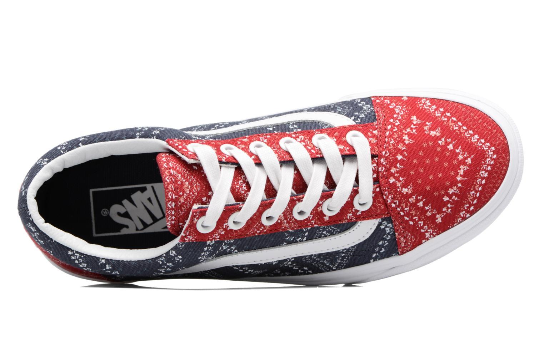 Sneakers Vans Old Skool W Blå bild från vänster sidan