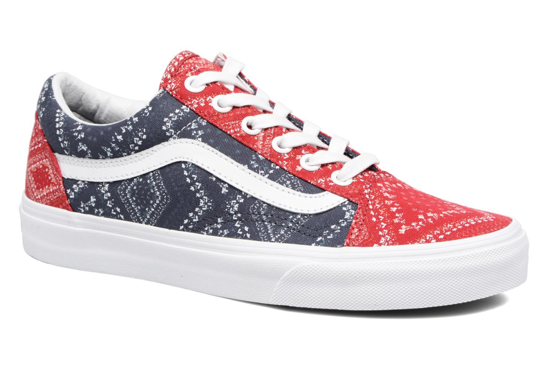 Sneaker Vans Old Skool W blau detaillierte ansicht/modell