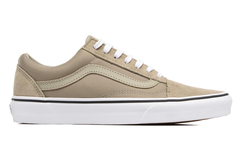 Sneakers Vans Old Skool W Beige se bagfra