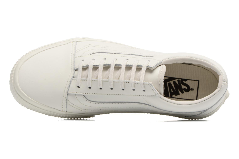 Sneaker Vans Old Skool W weiß ansicht von links