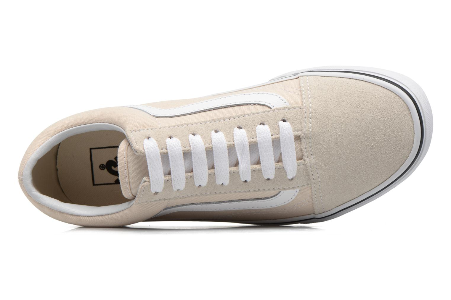 Trainers Vans Old Skool W Beige view from the left