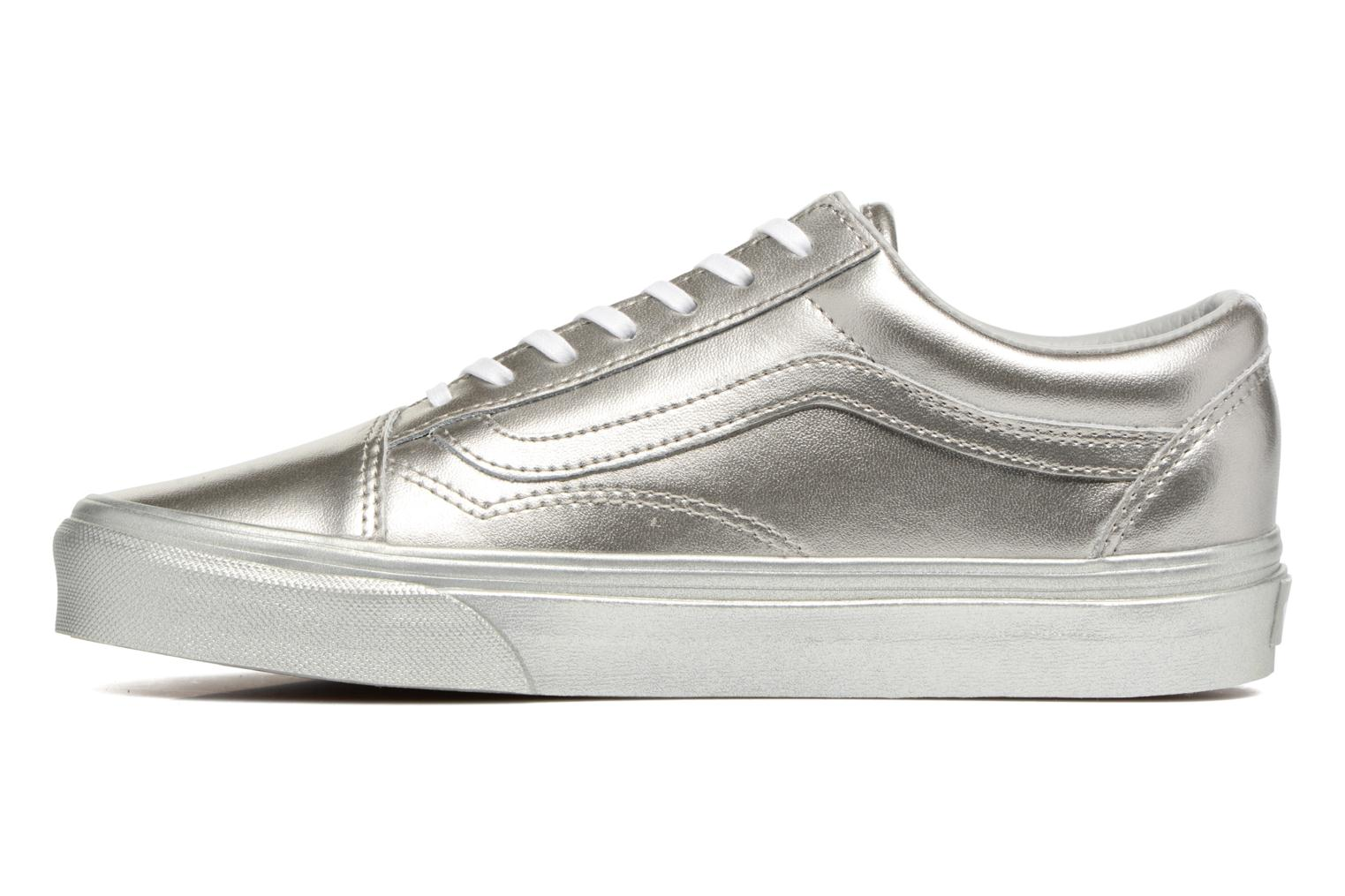 Baskets Vans Old Skool W Argent vue face
