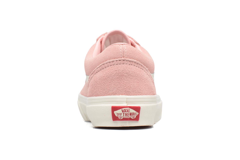 Sneakers Vans Old Skool W Roze rechts