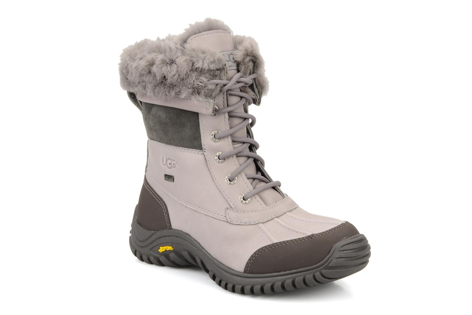 Ankle boots UGG Adirondack Grey detailed view/ Pair view