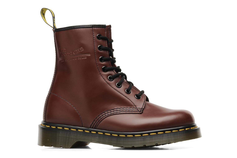 Bottines et boots Dr. Martens 1460 Smooth Rouge vue derrière