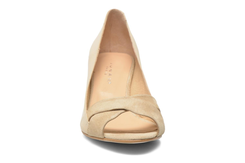 Escarpins Jonak Lili Beige vue portées chaussures