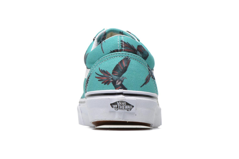Old Skool (Dirty Bird) turquoise/true white