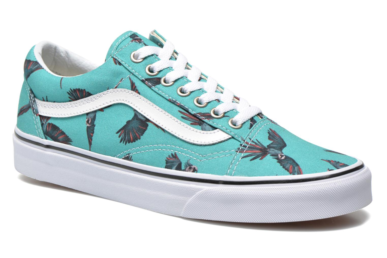 Old Skool (Dirty Bird) turquoise/true white