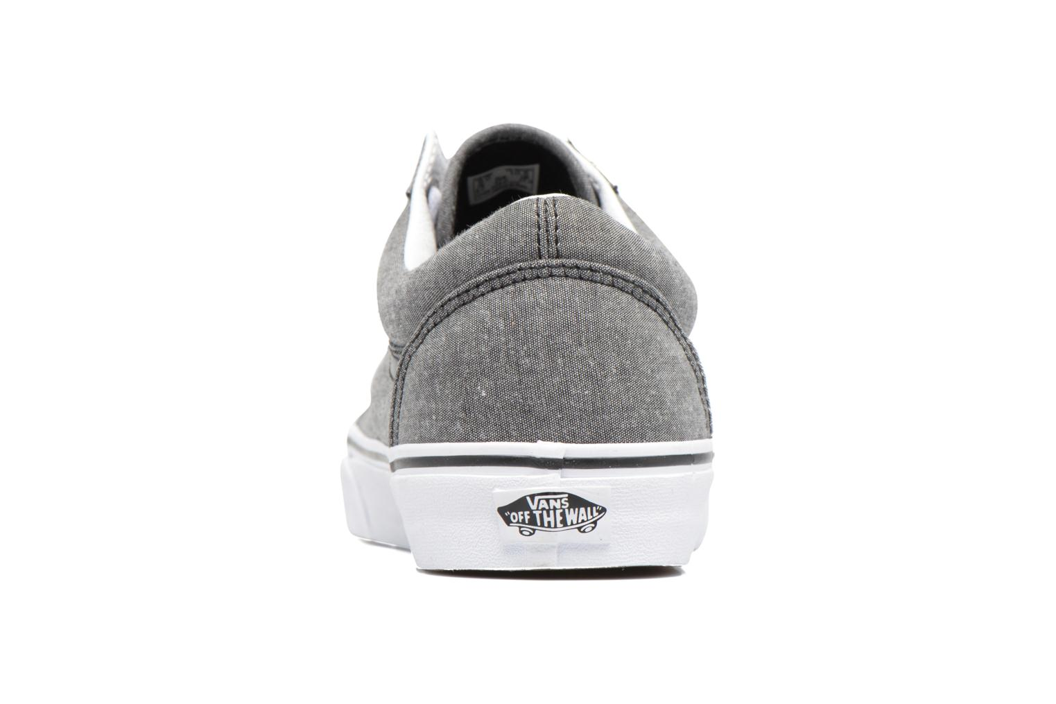 Trainers Vans Old Skool Grey view from the right