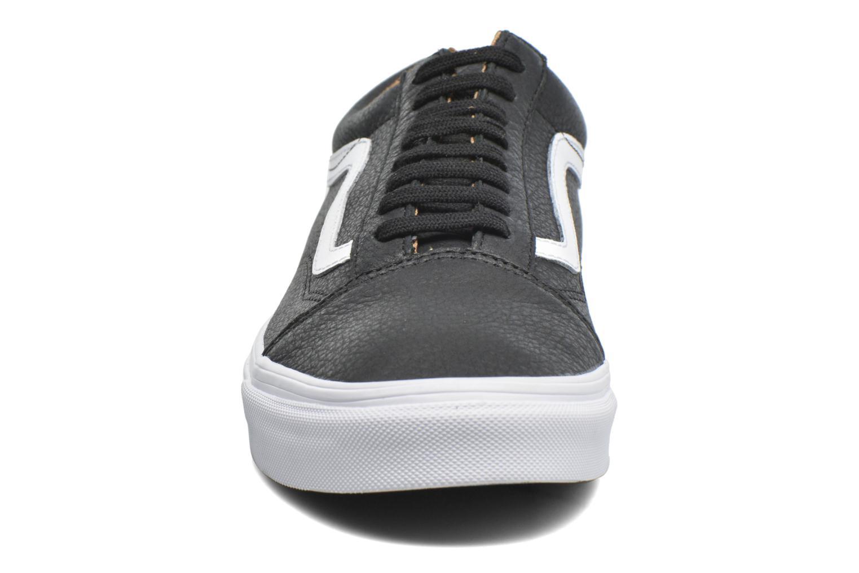 Old Skool (Premium Leather) Black/True White/White